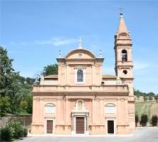 Vista Anteriore Santuario Madonna della Rosa